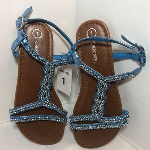 Cherokee blue Florence sandals